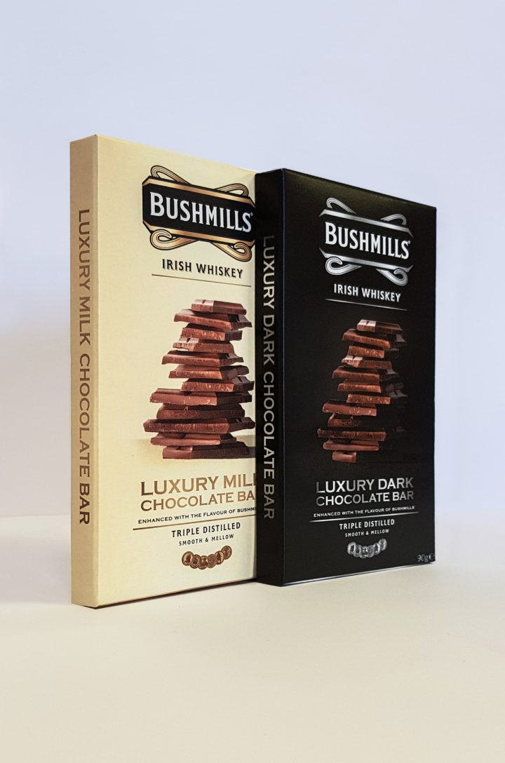 Bushmills Chocolate Packaging