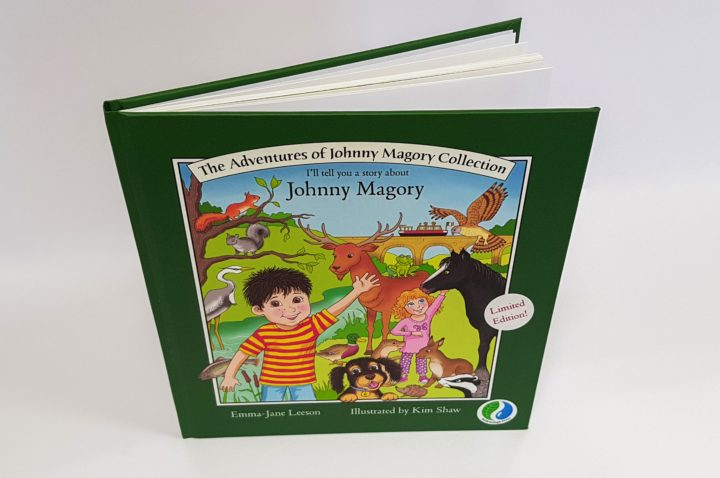 "Limited Edition Hardback ""The Adventures of Johnny Magory Collection"""